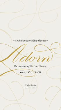Titus 2:1–5, 10 desktop wallpaper