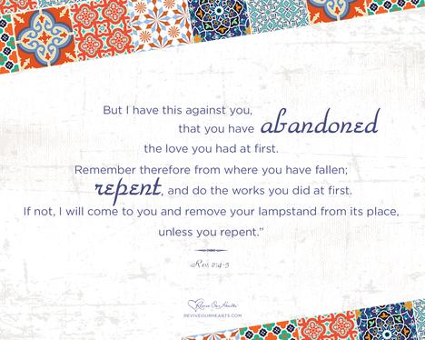 Rev. 2:4–5 desktop wallpaper