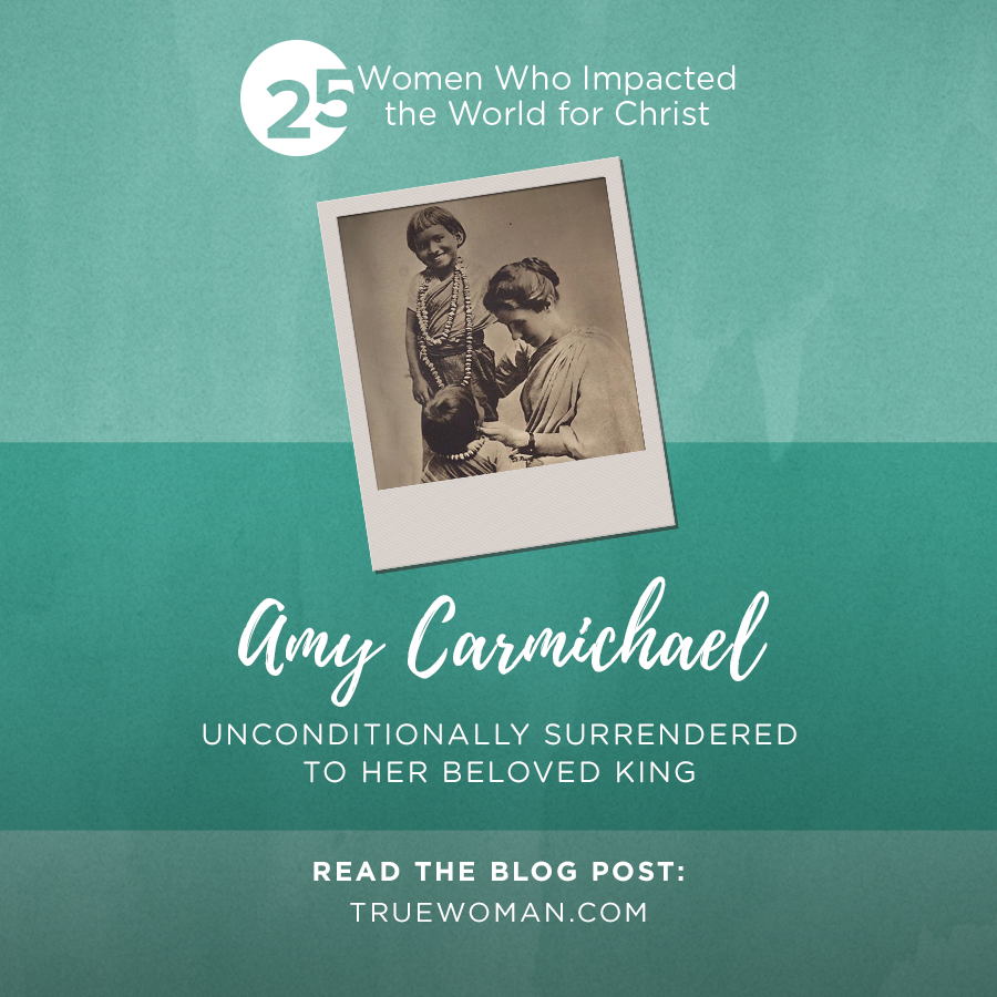 Thumbnail of Amy Carmichael: Unconditionally Surrendered to Her Beloved King
