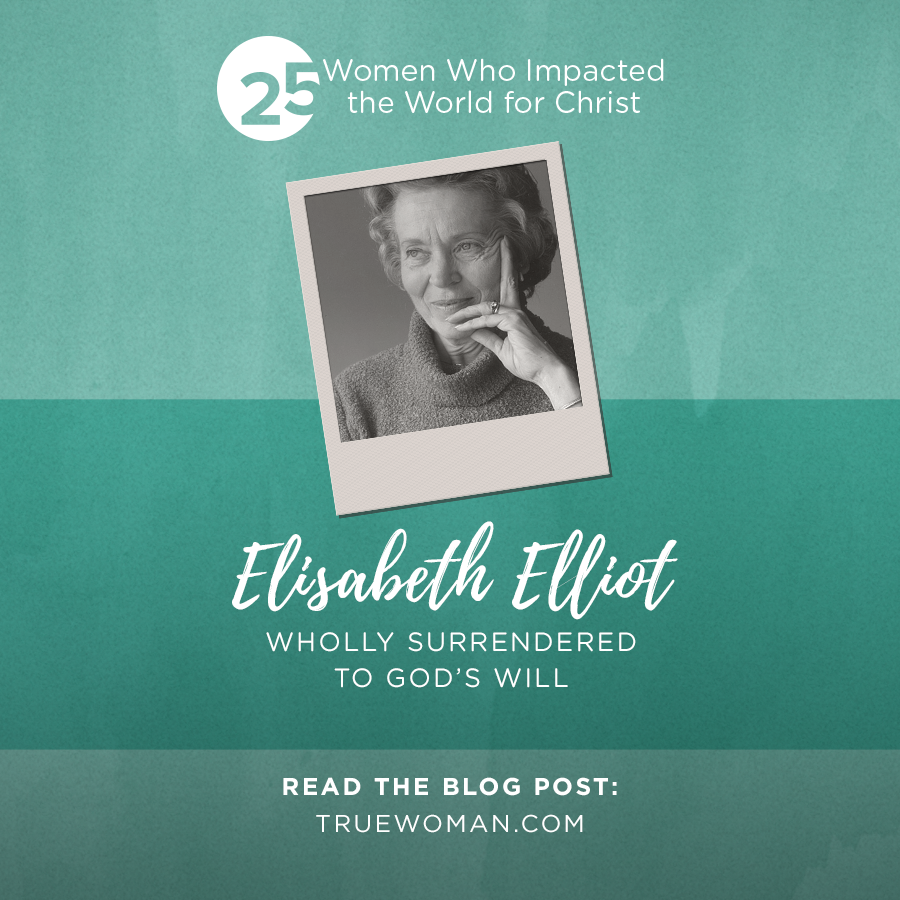 Thumbnail of Elisabeth Elliot: Wholly Surrendered to God's Will